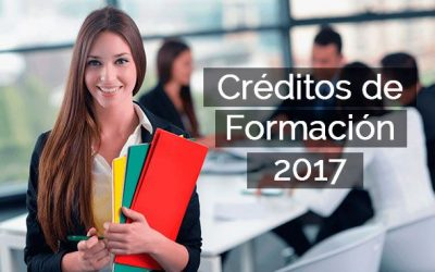 Disponible el crédito de formación con datos actualizados para el 2018