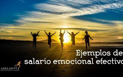 Ejemplos de salario emocional efectivo